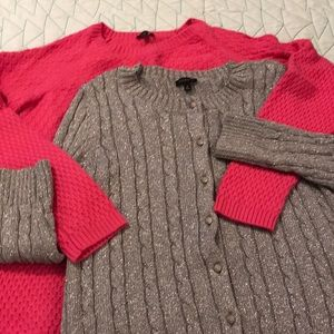 Talbots Set of Sweaters Size Medium
