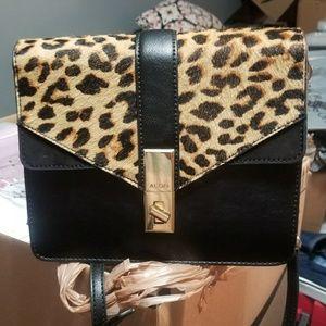 ALDO Gweisa Leopard Crossbody Purse Handbag