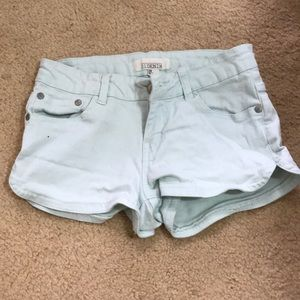 Mint Green Forever 21 Shorts