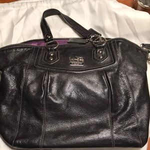 Coach large satchel