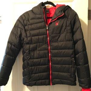 Sensational Spyder XT ThermaWeb Puffer Snow Coat