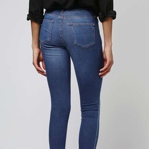 Top shop Leigh jeans