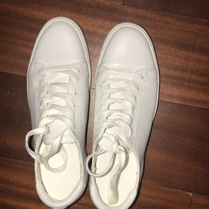 White leather Kenneth sneakers