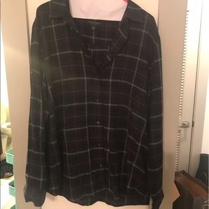Banana republic plaid shirt