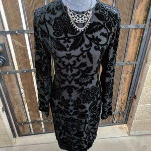 Velvet Design Dress
