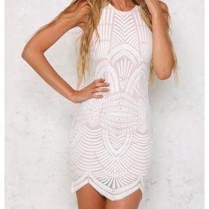 Hello Molly Fashion Take My Breath Away Lace Dress