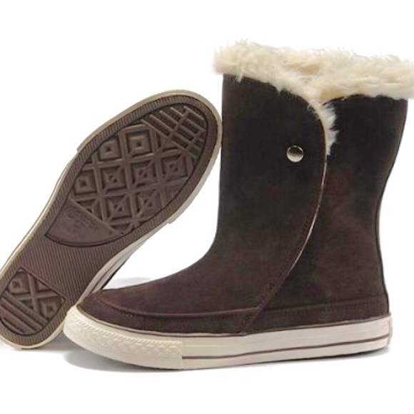 59bc294853eadd Converse Shoes - Converse Women s Brown Beverly Winter Boots