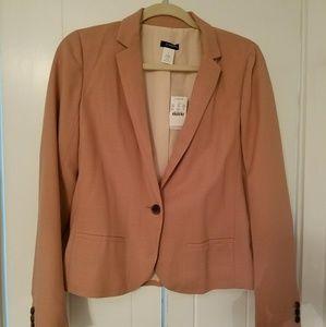 JCrew wool blush blazer size 6