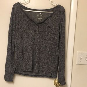 American Eagle Henley Top