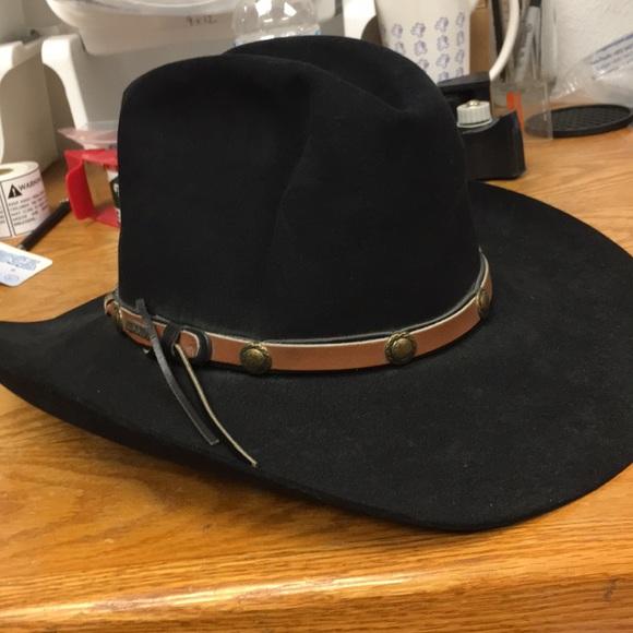 Resistol Cowboy Hat. M 5a3061f2620ff7f016006ab5 6b4f46592b3