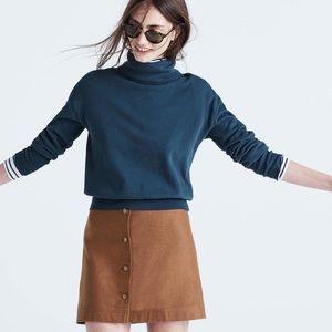 Madewell button-front skirt