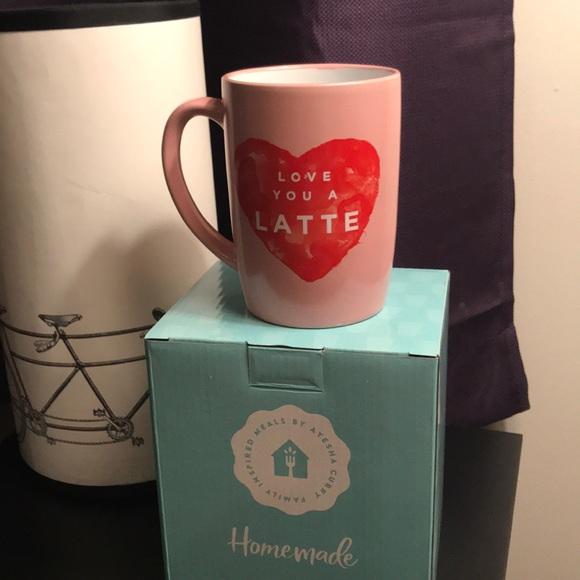 """3ace245cd10 """"Love you a latte"""" mug by Ayesha Curry NWT"""