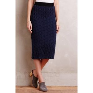 Anthro Adela Sweater Skirt