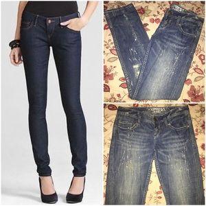 EXPRESS | Glitter Splatter Zelda Skinny Jeans