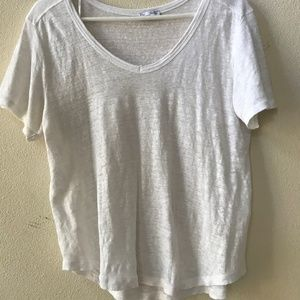 Zara white blouse in size Small.