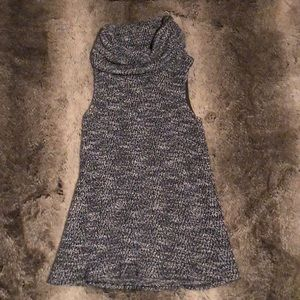 Anthropologie Sleeveless Turtleneck Sweater