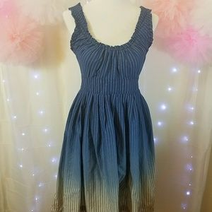 Converse Stripped Ombre dress