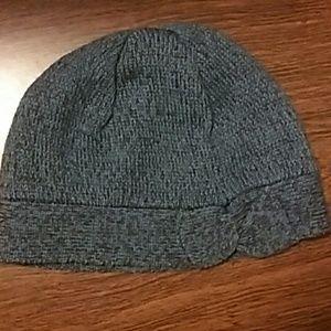Knit winter beanie hat