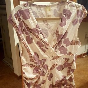 NWOT Anthropologie Top 100% Cotton