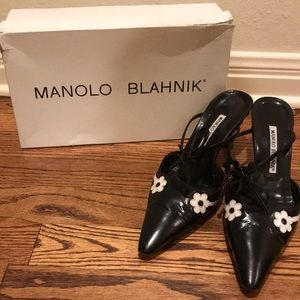 Vintage Manolo Blahnik mules