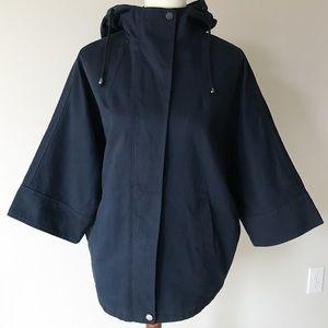 Navy oversized jacket