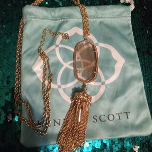Kendra Scott Gold Dusted Rayne Necklace