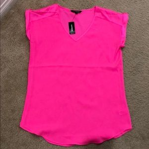 NWT express silky top