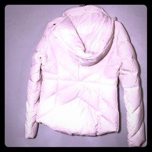 White Puffy coat