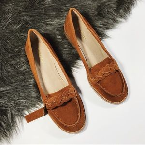 Topshop   Classic Braided Loafer