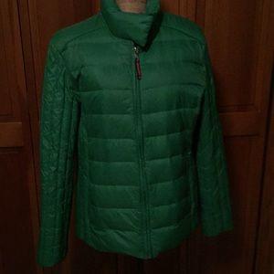 Tommy Hilfilger Kelly Green Puff Jacket