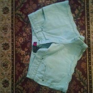 Aqua Short Shorts
