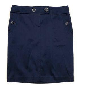 NWT - J. Crew navy Sailor Pencil skirt