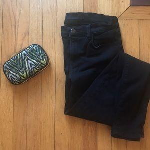JBrand Super Skinny Black Jeans - Size 27