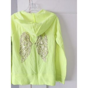 Victoria's Secret Angel Sequin Sweatshirt Hoodie