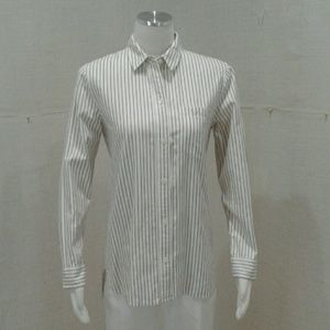 Madewell pinstriped blouse button down Sz M