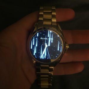 Michael Kors Gold Smartwatch
