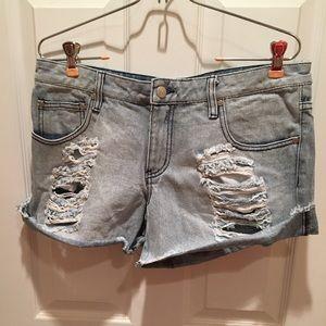 MINKPINK low waisted slasher flick shorts