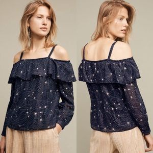 [Anthropologie] Starlit Off The Shoulder Top Gypsy