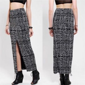❤️ Urban Outfitters Maxi Skirt with Front Slit
