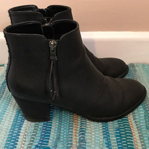 American Eagle Black Vegan Leather Boots