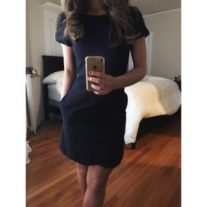 Navy Blue Gianni Bini Dress with Pockets