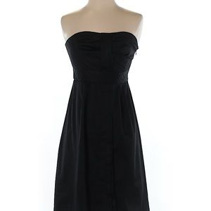 The Limited Strapless Black Cotton Dress, Like New