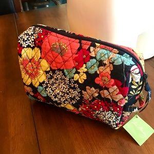 NWT Vera Bradley Large Cosmetic Bag