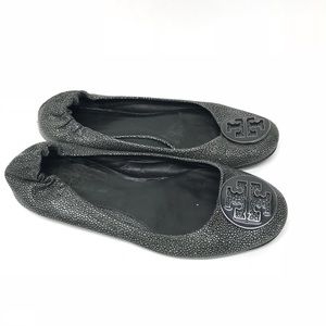 Tory Burch Reva Flats - See Measurements For Size
