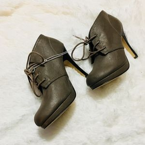 MADDEN GIRL High Heel Ankle Boots