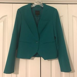 Turquoise Blazer Jacket from The Limited