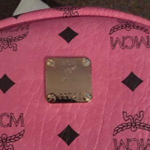 e8e0bf5e70ad Bags - Pink MCM Backpack!