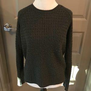 XS Gap dark greenish/blue-gray knit sweater