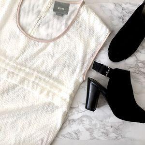 maeve • herringbone blouse