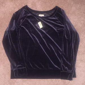 NWT Aerie Velvet Sweatshirt XL